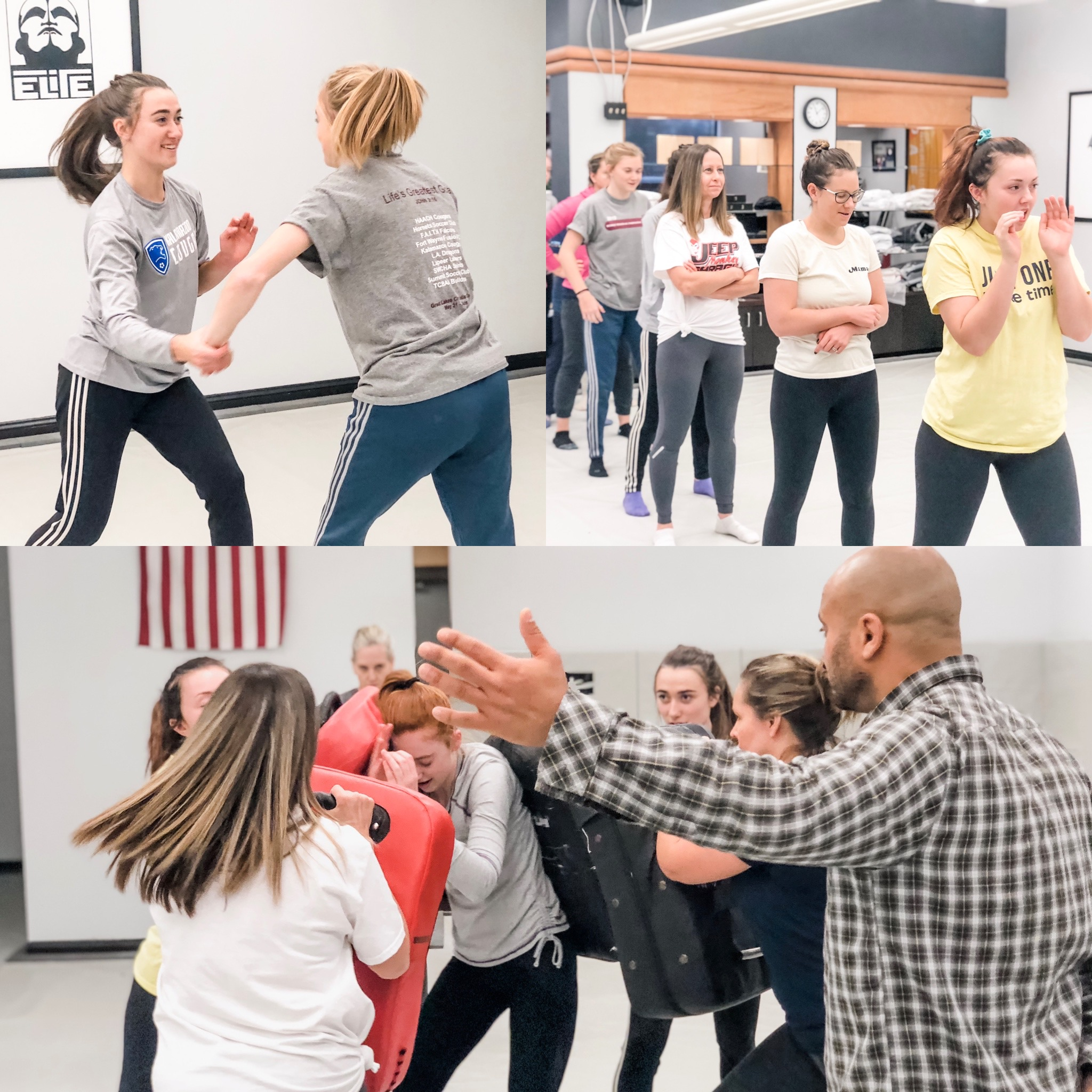 Women's self defense in Portage Michigan